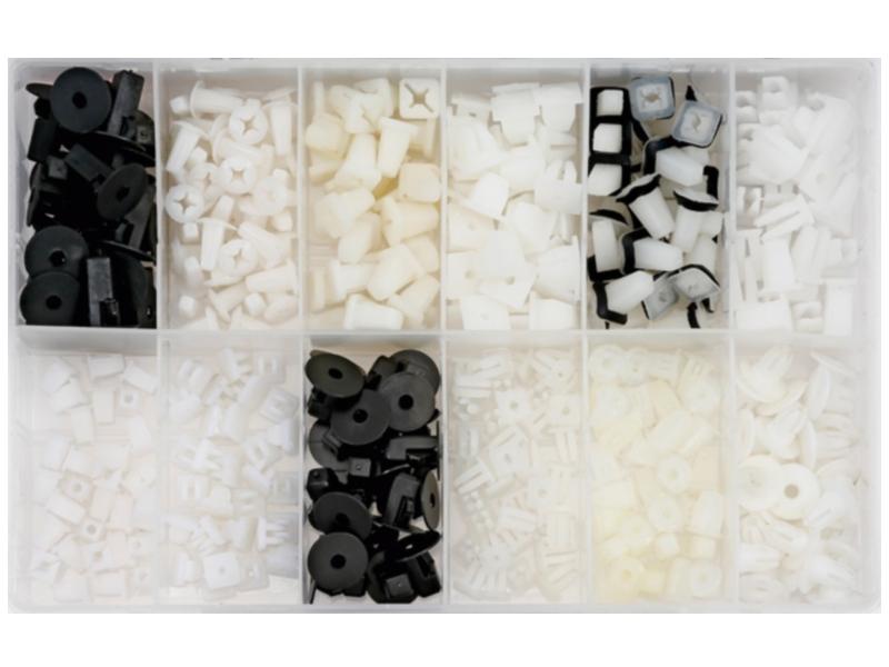Komplet spinaczy mocujących uniwersalnych (350-częściowy) | HIT CENOWY