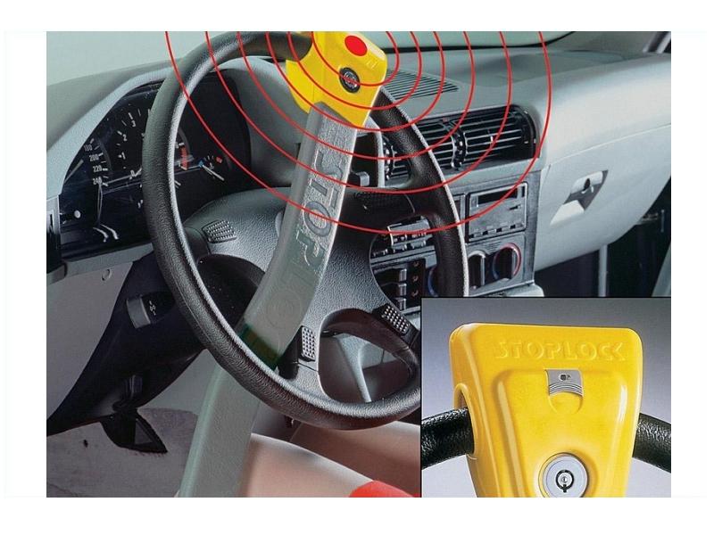 Blokada kierownicy z LED - zabezpieczenie przed kradzieżą | KAMEI