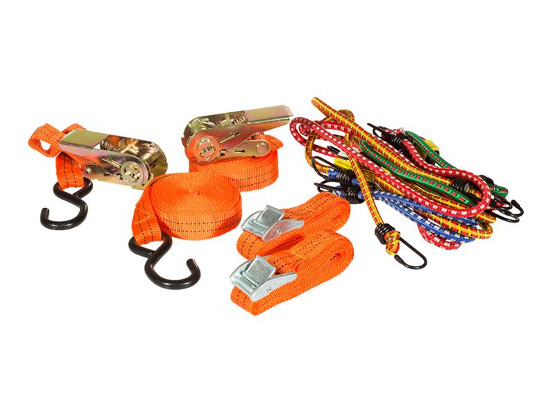 Pas ściągający i zestaw lin do mocowania ładunków | MANNESMANN