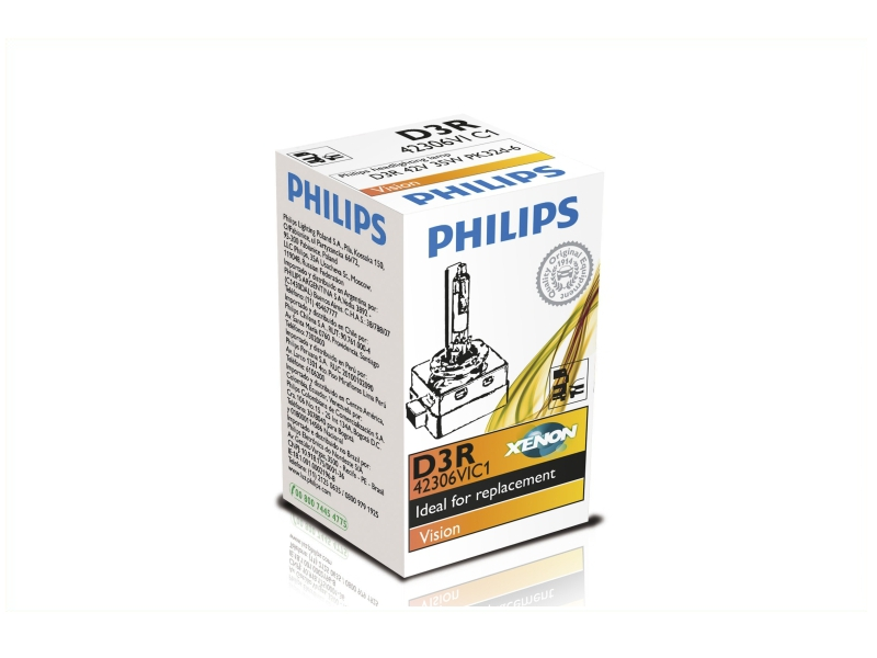 Żarnik ksenonowy D3R Vision 35W [12V] (1 szt.) | PHILIPS
