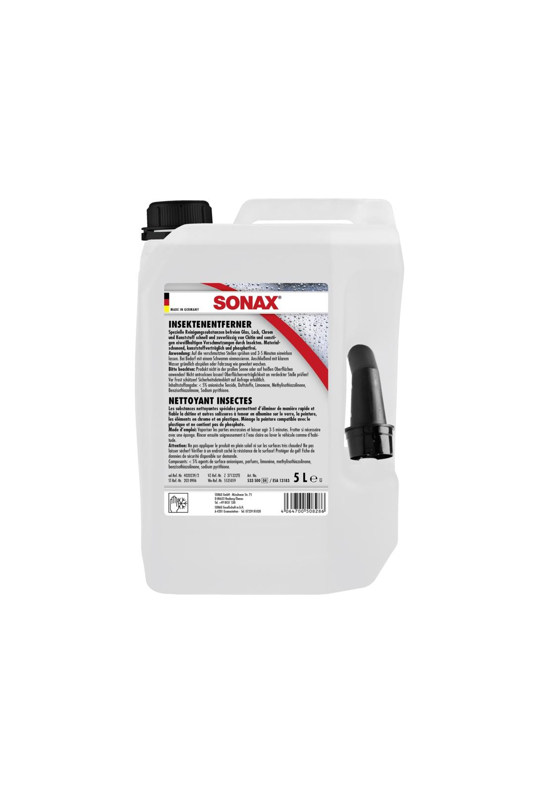 Środek do usuwania owadów (5 l)   SONAX